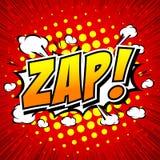Zap! - Comic Speech Bubble, Cartoon Stock Images