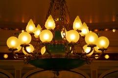 zapałki podsufitowy światło Zdjęcia Royalty Free