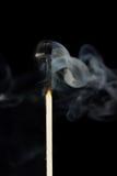 zapałczany dym Fotografia Royalty Free