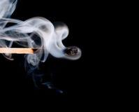 zapałczany dym Obrazy Stock
