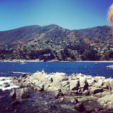 Zapallar, Chile coast Stock Photo