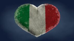 zapamiętaj me Kocham flaga Włochy royalty ilustracja