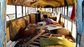 Zapamiętanie autobus w Mojave pustyni zdjęcie wideo