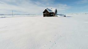 Zapamiętanie dom w zimie w Idaho zdjęcie wideo