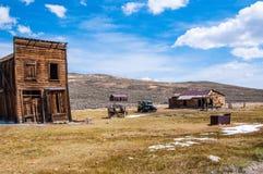 Zapamiętania górniczy miasteczko Bodie Zdjęcia Stock