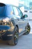 zaparkowany samochód Zdjęcia Stock