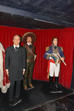 Zapata Wax museum in Madrid. Wax museum in Madrid and Spain Royalty Free Stock Photo