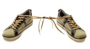 Zapatilla de deporte Imagen de archivo libre de regalías