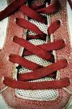 Zapatilla de deporte foto de archivo