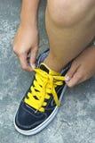 Zapatilla de deporte Fotos de archivo