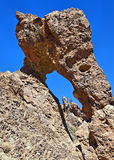Zapatilla de la Reina, rock formation, Teide Royalty Free Stock Photos