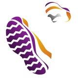 Zapatillas de deporte. ilustración del vector
