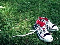 Zapatillas de deporte Fotografía de archivo libre de regalías