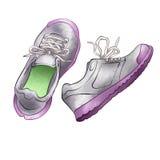 Zapatillas de deporte foto de archivo