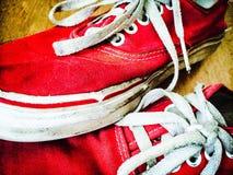 Zapatillas de deporte adolescentes Foto de archivo