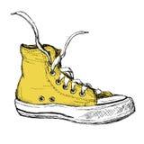 Zapatillas de deporte aisladas en el fondo blanco, Imágenes de archivo libres de regalías