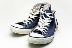 Zapatillas de deporte azules Foto de archivo