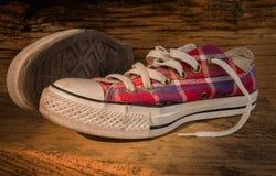 Zapatillas de deporte de Choes Fotografía de archivo