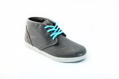 Zapatillas de deporte grises Foto de archivo libre de regalías