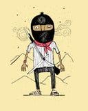 Zapatista Foto de Stock Royalty Free