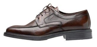 Zapato de Brown Imagenes de archivo