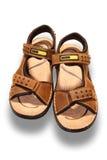 Zapato de Brown foto de archivo libre de regalías
