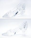 zapato de cristal Foto de archivo