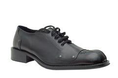 Zapato de cuero Imágenes de archivo libres de regalías