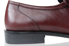 Zapato de cuero Fotos de archivo libres de regalías