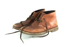 Zapato de cuero Foto de archivo libre de regalías