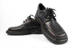 Zapato de cuero casual Imágenes de archivo libres de regalías