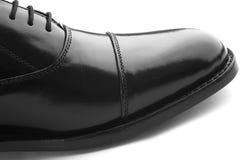 Zapato de cuero de Gentlemanâs imagenes de archivo