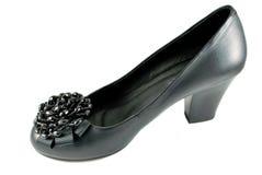 Zapato de cuero elegante Foto de archivo