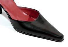 Zapato de las señoras foto de archivo