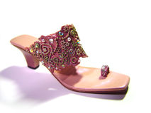 Zapato de lujo imagen de archivo
