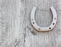 Zapato del caballo de Grunge Foto de archivo libre de regalías