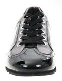 Zapato del hombre negro foto de archivo libre de regalías