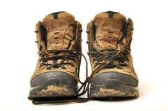 Zapato del senderismo Fotos de archivo