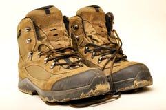 Zapato del senderismo Foto de archivo libre de regalías
