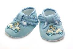 Zapato del verano para el bebé recién nacido Foto de archivo libre de regalías