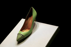 Zapato elegante para las señoras Fotografía de archivo libre de regalías