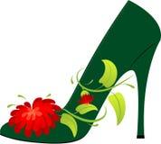 Zapato femenino Fotografía de archivo libre de regalías