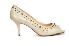 Zapato mujeril Fotos de archivo libres de regalías