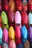Zapatos árabes Fotos de archivo