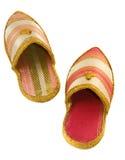 Zapatos árabes Fotografía de archivo