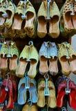 Zapatos árabes tradicionales Fotos de archivo