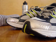 Zapatos 1 del deporte fotografía de archivo libre de regalías