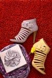 Zapatos Imagen de archivo libre de regalías