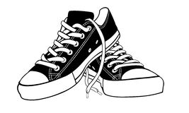Zapatos ilustración del vector