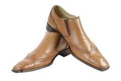Zapatos 3 del hombre Fotos de archivo libres de regalías
